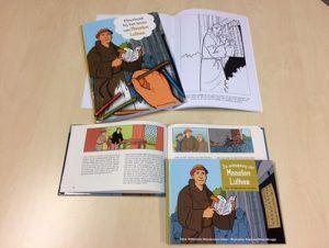 Kleurboek De ontdekking van Maarten Luther